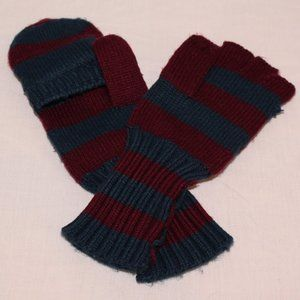 Striped convertible mittens - Free w/$15 purchase!